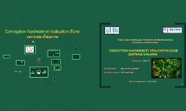 Copy of Conception hardware et réalisation d'une centrale d'alarme