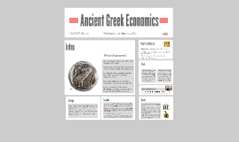 Ancient Greek Economics