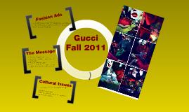 Gucci Fall 2011 Ad Campaign