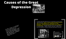 Unit 5 p. 8 Causes of the Great Depression