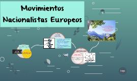 Copy of Movimientos Nacionalistas