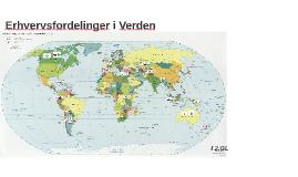 Copy of Befolkning og erhverv i Verden