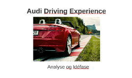 Audi Diving Experience