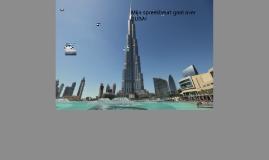 mijn spreekbeurt gaat over beroemde DUBAI