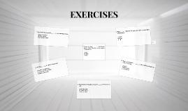 EXERCISES: UNITS 12 & 13 (A05)
