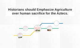 Historians should Emphasize Agriculture over human sacrifice