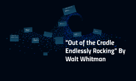 an analysis out of the cradle endlessly rocking by walt whitman A personal experience • whitman's own trauma of separation • a dramatization of his personal life • pain of the loss of his mother • the eve of the civil war of the us • a communal idyll – dream of 'democratic america' • historical roots – elegy of dissolution 6 out ofthe cradle endlessly rocking 7.
