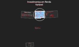 CPA 20 - Aula 26 - Investimentos em Renda Variável