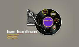 Copy of Exercício em Equipe - Festa de Formatura