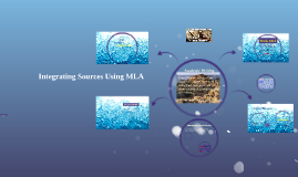 Copy of Integrating Sources Using MLA