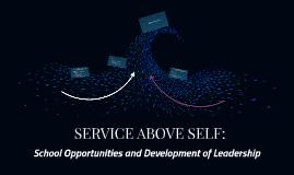 SERVICE ABOVE SELF:
