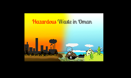 hazardous waste in oman