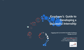 Copy of Employer's  Guide to Developing a Successful Internship