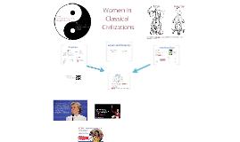 Women in Classical Civilizations