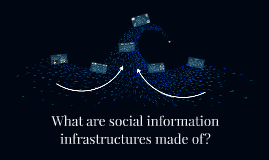 What are social information infrastructures made of?