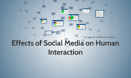 Effects of Social Media on Human Interaction