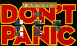 Copy of Miss Buth's Classroom