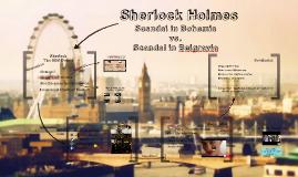 Sherlock Holmes Presentation