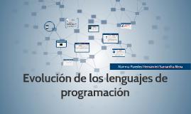 Copy of Evolución de los lenguajes de programación
