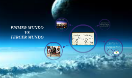 Copy of PRIMER MUNDO VS TERCER MUNDO