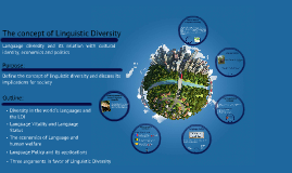 The concept of Linguistic Diversity