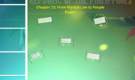 Copy of Chapter 23: From Martial Law to People Power