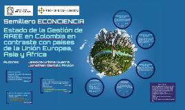 Gestión de RAEE en Colombia