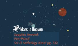 Mars is Heaven