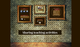 Sharing teaching activities