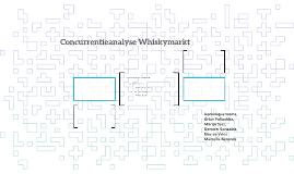 Concurrentieanalyse Whiskymarkt