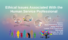 Ethical Issues Associated With the Human Service Professiona