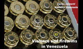 Violence and firearms in Venezuela