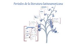 Copy of Periodos  de la literatura latinoamericana