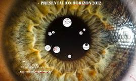 Presentación Horizon 2012