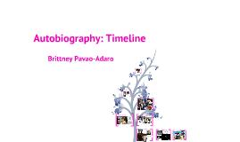 Social Studies Autobiography: Timeline