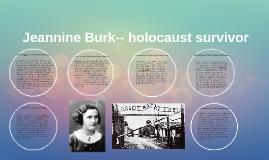 Copy of Jeannine Burk-- holocaust surviver