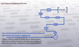 Plan de Actividades para la acreditación de pruebas de labor