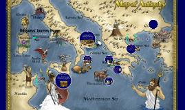 Odysseus' Journey timeline