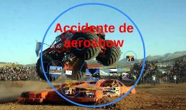 accidente de aeroshow
