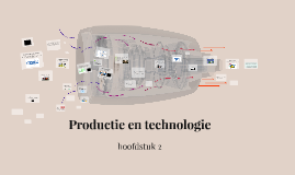 Hoofdstuk 8: Productie en technologie