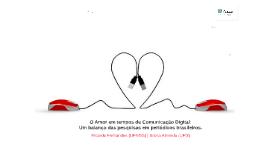 O amor em tempos de comunicação digital