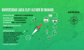 UNIVERSIDAD LAICA ELOY ALFARO DE MANABÍ