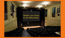 Theater voor doven en slechthorenden