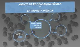 AGENTE DE PROPAGANDA MÉDICA