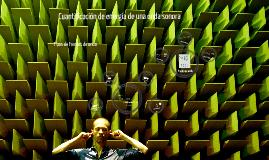 03 Cuantificación de energía de una onda sonora
