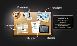 Curriculum Vitae by Alvaro Rodriguez