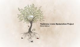 Copy of Tuolumne Grove Restoration Project