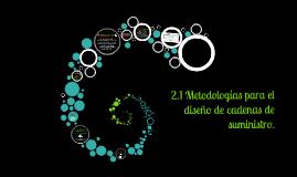 Copy of 2.1 Metodologias para el diseño de Cadenas de Suministro