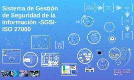 SGSI ISO 27000