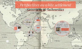 Perspectives on white settlement Government Authourities